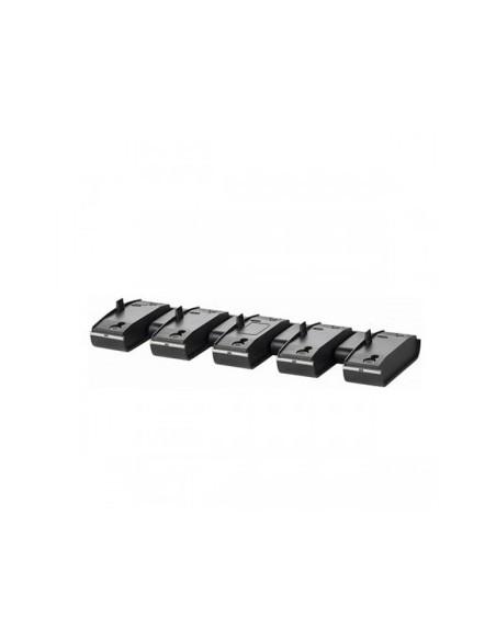 SPARE charge base, 5 units, 3 pins - SAVI