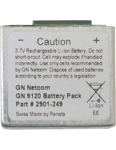 Batterie pour Jabra GN9120 avec tournevis 3.7V 345 mA. Philips 0. TorxT5