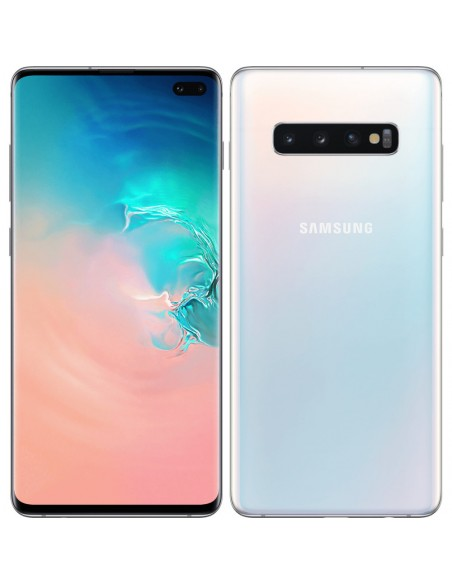 Samsung - Galaxy S10+ blanc