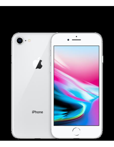 Apple - Iphone 8 64 GO argent (Reconditionné)