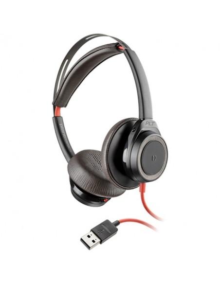 Blackwire 7225 - USB A - Face - Noir