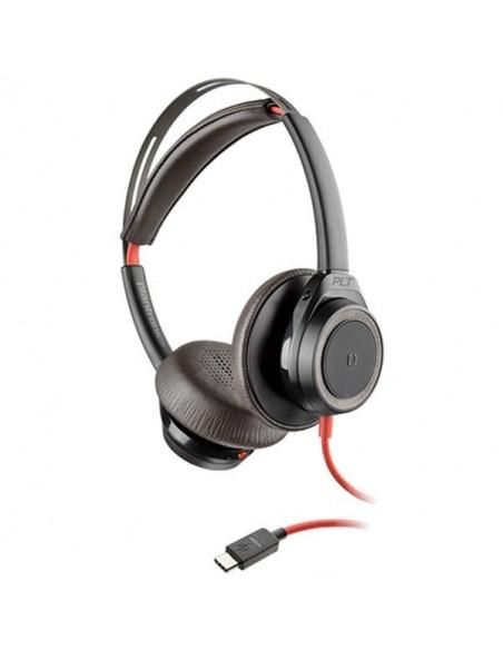 Blackwire 7225 - USB C - Face - Noir