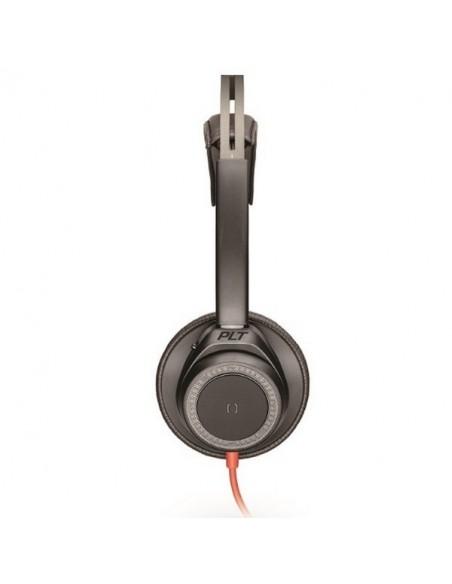 Blackwire 7225 - USB A - Profil - Noir