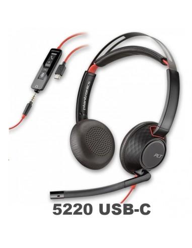 Poly-Plantronics Blackwire 5220 USB-C