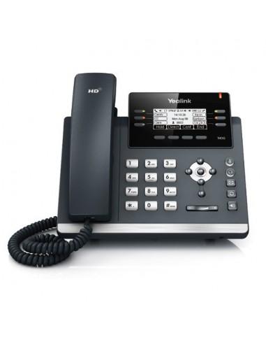 SIP-T42G, Ultra-elegant Gigabit IP Phone